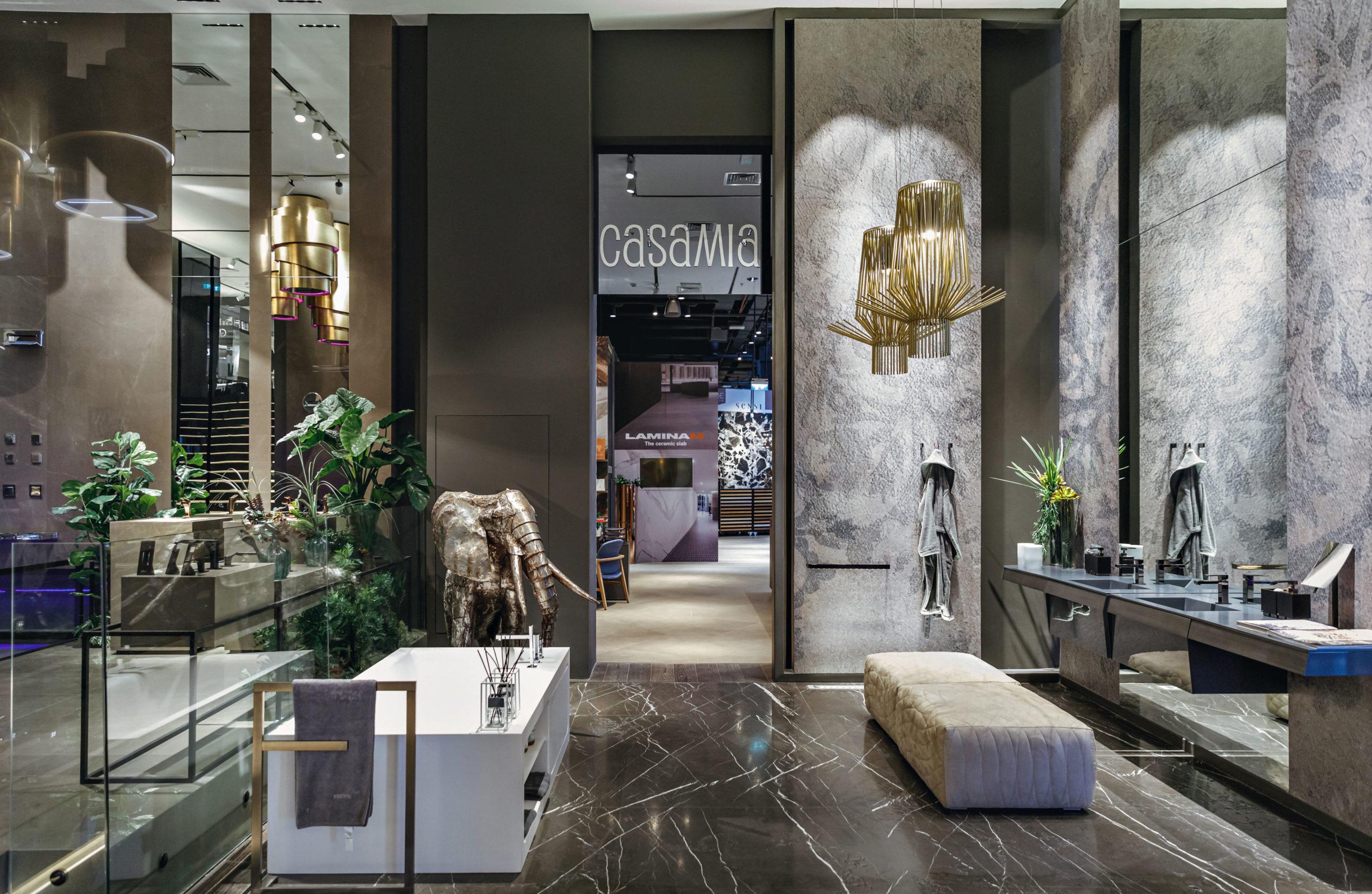 Showroom Walkway Gessi 360 Banner
